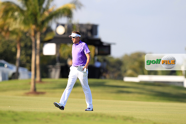 Ian Poulter (ENG) during the 2nd round at the WGC Cadillac Championship, Blue Monster, Trump National Doral, Doral, Florida, USA<br /> Picture: Fran Caffrey / Golffile