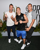 "09 July 2019 - Los Angeles, California - Dan Gronkowski, Chris Gronkowski, Rob Gronkowski. ESPN ""The ESPYS Official Pre-Party"" held at the Hotel Figueroa. Photo Credit: Billy Bennight/AdMedia"