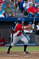 Joshua Satin of the St. Lucie Mets during the Florida State League All Star Game (Scott Jontes/MiLB.com)