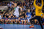 Matthias Musche (SC Magdeburg) \Johannes Bitter (TVB 1898 Stuttgart) \ beim Spiel der All Star-Team - Deutsche Nationalmannschaft.<br /> <br /> Foto &copy; PIX-Sportfotos *** Foto ist honorarpflichtig! *** Auf Anfrage in hoeherer Qualitaet/Aufloesung. Belegexemplar erbeten. Veroeffentlichung ausschliesslich fuer journalistisch-publizistische Zwecke. For editorial use only.