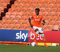 Blackpool's Armand Gnanduillet<br /> <br /> Photographer Stephen White/CameraSport<br /> <br /> The EFL Sky Bet League One - Blackpool v Rochdale - Saturday 6th October 2018 - Bloomfield Road - Blackpool<br /> <br /> World Copyright © 2018 CameraSport. All rights reserved. 43 Linden Ave. Countesthorpe. Leicester. England. LE8 5PG - Tel: +44 (0) 116 277 4147 - admin@camerasport.com - www.camerasport.com