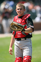 August 18 2008:  Max Stassi (22) of the Baseball Factory team during the 2008 Under Armour All-American Game at Wrigley Field in Chicago, IL.  Photo by:  Mike Janes/Four Seam Images