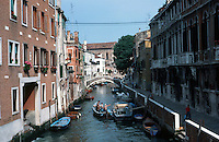 Venice:  3 minute walk--8.  Ponte Dei Gesuiti.  Photo '83.