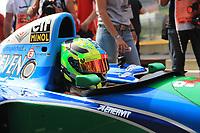 Mick Schumacher (GER) at Formula One World Championship, Rd12, Belgian Grand Prix, Race, Spa Francorchamps, Belgium, Sunday 27 August 2017.<br /> Foto Benoit Bouchez/Photonews/ Insidefoto