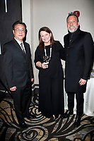 BURBANK - APR 27: Steve Lee, Kim McManus, Erwin McManus at the Faith, Hope and Charity Gala hosted by Catholic Charities of Los Angeles at De Luxe Banquet Hall on April 27, 2019 in Burbank, CA