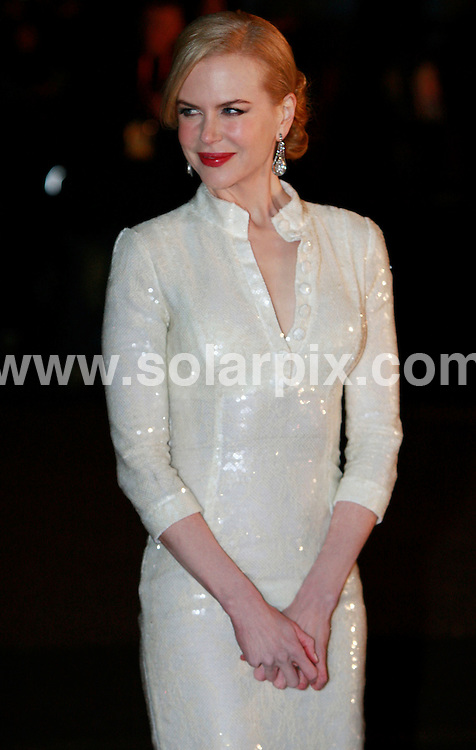 **ALL ROUND PICTURES FROM SOLARPIX.COM**.**WORLDWIDE SYNDICATION RIGHTS**.The UK premiere of 'Australia' in Leicester Square, central London, UK. 10 December 2008.  ..This pic: Nicole Kidman..JOB REF: 9712 DBL     DATE: 10_12_2008.**MUST CREDIT SOLARPIX.COM OR DOUBLE FEE WILL BE CHARGED**.**MUST NOTIFY SOLARPIX OF ONLINE USAGE**.**CALL US ON: +34 952 811 768 or LOW RATE FROM UK 0844 617 7637**