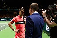 ABNAMRO World Tennis Tournament, 14 Februari, 2018, Rotterdam, The Netherlands, Ahoy, Tennis, Grigor Dimitrov (BUL)<br /> <br /> Photo: www.tennisimages.com