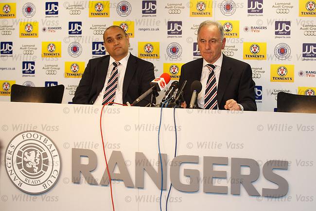 Imran Ahmad and Charles Green