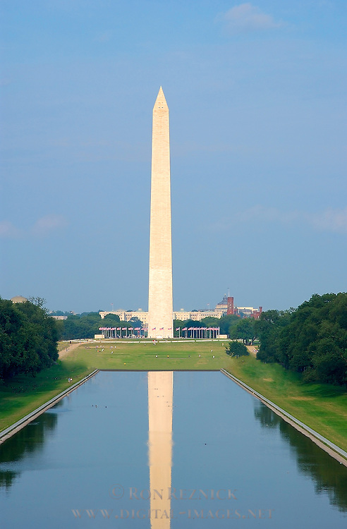 Washington Monument, Lincoln Reflecting Pool, National Mall, Washington DC