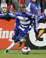 Jair Benitez#5 of FC Dallas during MLS Cup 2010 at BMO Stadium in Toronto, Ontario on November 21 2010. Colorado won 2-1 in overtime.