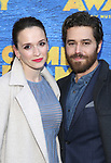 Emily Padgett and Josh Young attends the Broadway Opening Night performance for 'Come From Away' at the Gerald Schoenfeld Theatre on March 12, 2017 in New York City.