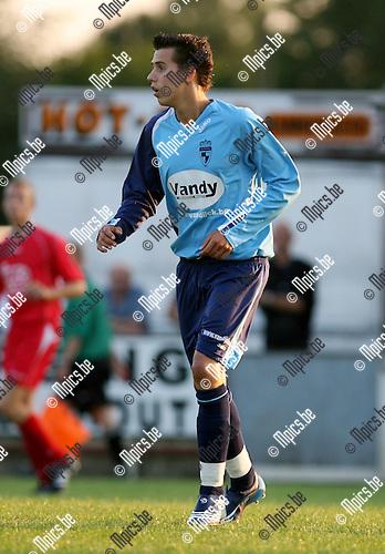 2008-07-23 / Voetbal / Archief 2008-2009 / K.F.C. Houtvenne / Joris Saenen..Foto: Maarten Straetemans (SMB)