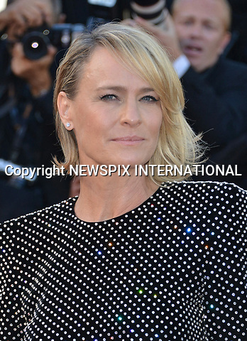17.05.2017; Cannes, France: ROBIN WRIGHT<br /> attends the premiere of &quot;Les Fantomes d'Ismael&quot; at the 70th Cannes Film Festival, Cannes<br /> Mandatory Credit Photo: &copy;NEWSPIX INTERNATIONAL<br /> <br /> IMMEDIATE CONFIRMATION OF USAGE REQUIRED:<br /> Newspix International, 31 Chinnery Hill, Bishop's Stortford, ENGLAND CM23 3PS<br /> Tel:+441279 324672  ; Fax: +441279656877<br /> Mobile:  07775681153<br /> e-mail: info@newspixinternational.co.uk<br /> Usage Implies Acceptance of Our Terms &amp; Conditions<br /> Please refer to usage terms. All Fees Payable To Newspix International