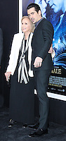 "NEW YORK, NY - FEBRUARY 11: Eva Marie Saint, Colin Farrell at the World Premiere Of Warner Bros. Pictures' ""Winter's Tale"" held at Ziegfeld Theatre on February 11, 2014 in New York City. (Photo by Jeffery Duran/Celebrity Monitor)"