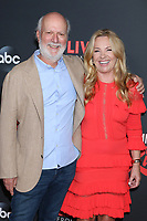 LOS ANGELES - AUG 7:  James Burrows, Debbie Easton at the An Evening With Jimmy Kimmel at the Roosevelt Hotel on August 7, 2019 in Los Angeles, CA
