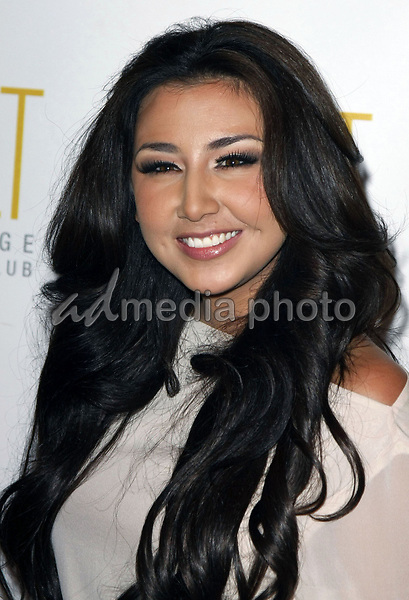 3 October 2008 - Las Vegas, Nevada - Aundrea Fimbres.  Aundrea Fimbres from Danity Kane hosts a night at Jet Nightclub inside the Mirage Resort Hotel and Casino. Photo Credit: MJT/AdMedia