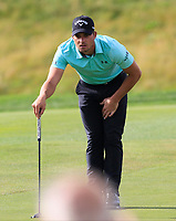 Haydn Porteous (RSA) on the 12th green during Round 4 of the D+D Real Czech Masters at the Albatross Golf Resort, Prague, Czech Rep. 03/09/2017<br /> Picture: Golffile   Thos Caffrey<br /> <br /> <br /> All photo usage must carry mandatory copyright credit     (&copy; Golffile   Thos Caffrey)