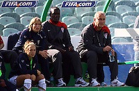 USA coach Kazbek Tambi..FIFA U17 Women's World Cup, USA v France, Albany Stadium, Auckland, New Zealand, Wednesday 5 November 2008. Photo: Renee McKay/PHOTOSPORT