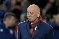 Serbia manager Slavoljub Muslin during the 2018 FIFA World Cup Qualifier between Wales and Serbia at the Cardiff City Stadium, Wales, UK. Saturday 12 November 2016
