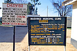 Masvingo - Mucheke Clinic Signs With Fees