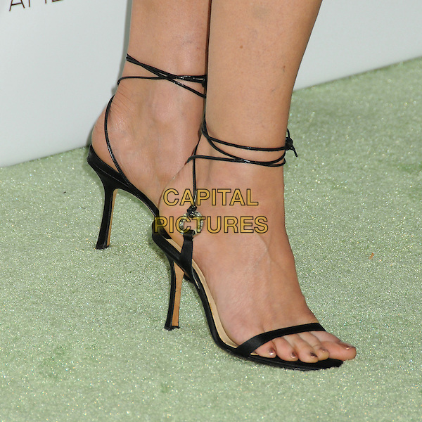 Diane Lane's shoes <br /> at the 2nd Annual &quot;Beyond Hunger: A Place At the Table&quot; Gala Sponsored by Heifer International held at the Montage Beverly Hills Hotel, Beverly Hills, California, USA, <br /> 19th September 2013.<br /> detail feet black ankle strap shoes sandals open toe <br /> CAP/ADM/BP<br /> &copy;Byron Purvis/AdMedia/Capital Pictures