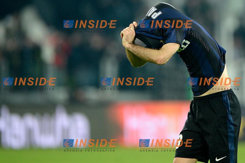 Rodrigo Palacio Inter<br /> Torino 02-02-2014 Juventus Stadium - Football 2013/2014 Serie A. Juventus - Inter Foto Giuseppe Celeste / Insidefoto