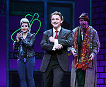 Orfeh, Jason Danieley and Eric Anderson during the Curtain Call for the Garry Marshall Tribute Performance of 'Pretty Woman:The Musical' at the Nederlander Theatre on August 2, 2018 in New York City.