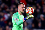 UEFA Champions League 2018/2019.<br /> Round of 16 2nd leg.<br /> FC Barcelona vs Olympique Lyonnais: 5-1.<br /> Marc-Andre ter Stegen.