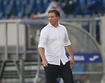 Trainer Julian Nagelsmann (RB Leipzig)<br /> <br /> Sport: Fussball: LIGA: Saison 19/20: TSG 1899 <br /> Hoffenheim-RB Leipzig, 12.06.2020.<br /> <br /> Foto: RALF POLLER/AVANTI/POOL/PIX-Sportfotos<br /> <br /> Nur für journalistische Zwecke! Only for editorial use! <br /> Gemäß den Vorgaben der DFL Deutsche Fußball Liga ist es untersagt, in dem Stadion und/oder vom Spiel angefertigte Fotoaufnahmen in Form von Sequenzbildern und/oder videoähnlichen Fotostrecken zu verwerten bzw. verwerten zu lassen. DFL regulations prohibit any use of photographs as image sequences and/or quasi-video.