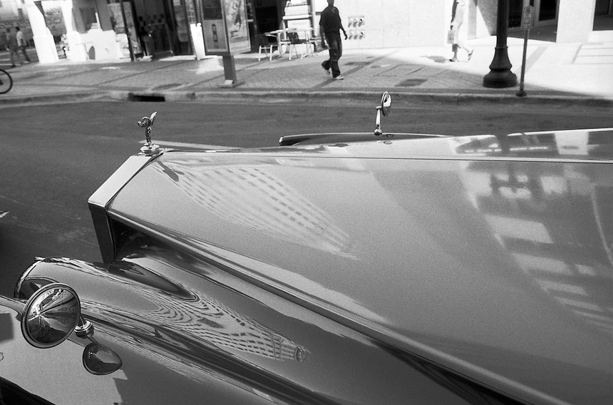 "Rolls-Royce<br /> From ""Walking Downtown"" series. Miami, Florida, 2007"