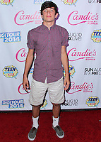 BEVERLY HILLS, CA, USA - AUGUST 09: Hayes Grier at the DigiTour and Candie's Official Teen Choice Awards 2014 Pre-Party held at The Gibson Showroom on August 9, 2014 in Beverly Hills, California, United States. (Photo by Xavier Collin/Celebrity Monitor)
