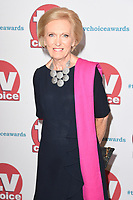 Mary Berry at the TV Choice Awards 2017 at The Dorchester Hotel, London, UK. <br /> 04 September  2017<br /> Picture: Steve Vas/Featureflash/SilverHub 0208 004 5359 sales@silverhubmedia.com