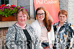 Phil Coulter Concert: Attending the Phil Coulter concert in the Church of the Assumption, Moyvane on Tuesday night last were Liz & Lisa Mulvihill, Moyvane & Elma O'Connor, Ballylongford.