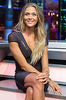 Spanish actress Patricia Montero during the presentation of the new season of the tv show · El Hormiguero · of Antena 3 channel. September 01, 2016. (ALTERPHOTOS/Rodrigo Jimenez) NORTEPHOTO