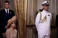 Roma, 20 Giugno 2017<br /> La Regina M&aacute;xima dei Paesi Bassi.<br /> Quirinale<br /> Visita di Stato dei Reali dei Paesi Bassi in Italia