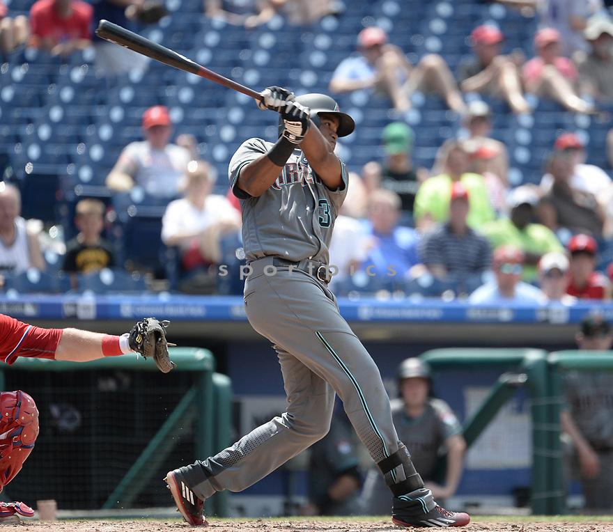 Arizona Diamondbacks Socrates Brito (30) during a game against the Philadelphia Phillies on June 20, 2016 at Citizens Bank Park in Philadelphia, PA. The Diamondbacks beat the Phillies 3-1.
