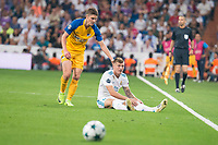Real Madrid's Toni Kroos during UEFA Champions League match between Real Madrid and Apoel at Santiago Bernabeu Stadium in Madrid, Spain September 13, 2017.  *** Local Caption *** © pixathlon<br /> Contact: +49-40-22 63 02 60 , info@pixathlon.de