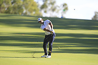 Dimitrios Papadatos (AUS) in action on the 13th during Round 2 of the ISPS Handa World Super 6 Perth at Lake Karrinyup Country Club on the Friday 9th February 2018.<br /> Picture:  Thos Caffrey / www.golffile.ie<br /> <br /> All photo usage must carry mandatory copyright credit (&copy; Golffile   Thos Caffrey)