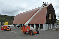 CT-DOT Beacon Falls Salt Shed Roof Renovation | Project #06-119 for CT Carpentry