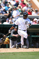 March 21st 2008:  Curtis Granderson of the Detroit Tigers during Spring Training at Joker Marchant Stadium in Lakeland, FL.  Photo by:  Mike Janes/Four Seam Images