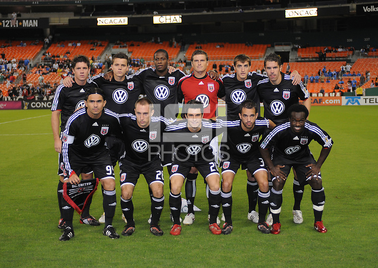 DC United Starting Eleven. CD Cruz Azul defeated DC United 1-0 ,  in the first leg of the group A of the Concacaf Champions League, Wednesday October 1st, 2008 at RFK Stadium.