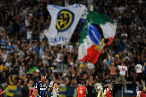 29.05.2011 Samuel Eto'o (Inter) Coppa Italia (TIM Cup) Final match between Inter Milan 3-1 Palermo at Stadio Olimpico in Rome, Italy.