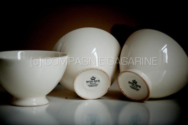 Belgian Royal porcelain cups from Royal Boch (Belgium, 26/02/2009)