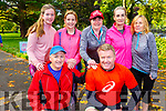 Ready to run in the Kerry Health and Wellbeing Parkrun in the Tralee Town park on Saturday.Kneeling l-r, Norman and Teddy Foley.<br /> Back l-r, Rachel and Elaine Foley, Catherine O&rsquo;Connor, Noreen Quirke and Carmel Foran.
