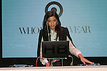 Hannah Brofman DJing during the Target + Who What Wear launch of the Who What Wear collection by Hillary Kerr and Katherine Power, on January 27, 2016.