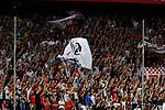 Sevilla FC fans during La Liga match. Sep 29, 2019. (ALTERPHOTOS/Manu R.B.)