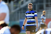 Josh Lewis of Bath United looks on. Aviva A-League match, between Bath United and Saracens Storm on September 1, 2017 at the Recreation Ground in Bath, England. Photo by: Patrick Khachfe / Onside Images