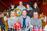 Deaglán O'Brían from Strand Road celebrating his 30th birthday in Ristorante Uno on Tuesday.<br /> Seated l to r: Nicole O'Sullivan, Declan and Martina O'Brien.<br /> Back l to r: Jordan O'Sullivan, Donnacha and Theresa Dermody and Ailvhe Hussey.