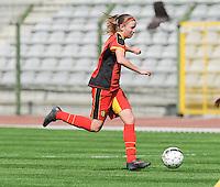 Belgium U19 - Ukraine U19 : <br /> <br /> Belgium U19 : Chlo&euml; Van Mingeroet<br /> <br /> foto Dirk Vuylsteke / Nikonpro.be