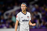 Orlando, FL - Saturday July 07, 2018: Ashley Hatch during the second half of a regular season National Women's Soccer League (NWSL) match between the Orlando Pride and the Washington Spirit at Orlando City Stadium. Orlando defeated Washington 2-1.